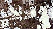 Jap surrender hk