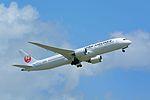 Japan Airlines, Boeing 787-9 JA861J NRT (20818202816).jpg