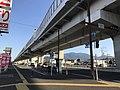 Japan National Route 202 and Fukuoka Express Circular Route near Jiromaru Station.jpg