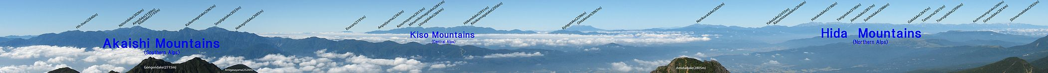 Japanese-Alps from Mt.Akadake 02 en.jpg