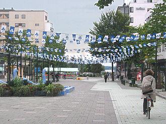 Järvenpää - Sibeliuksenkatu (Sibelius' street)
