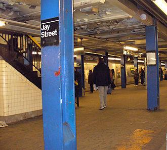 IND Culver Line - Jay Street – MetroTech