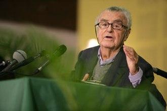 Jean-Pierre Vernant - Vernant at his last conference, October 23, 2006 (Aubervilliers)