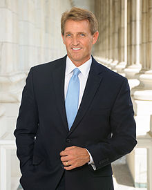 Portrait officiel de Jeff Flake.