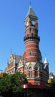 Jefferson Market Library United States historic place
