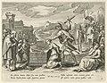 Jefta offert zijn dochter Geschiedenis van Jefta (serietitel), RP-P-1904-3383.jpg