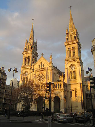 11th arrondissement of Paris - Image: Jielbeaumadier eglise st ambroise paris 2007