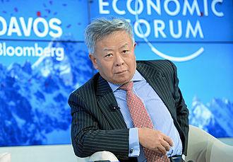 Jin Liqun - Liqun during the World Economic Forum 2013