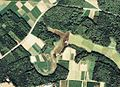 Jinden-Ike water reservoir Aerial photograph.1979.jpg