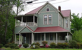 Silk Stocking District (Talladega) - Image: Joe Cowan Home