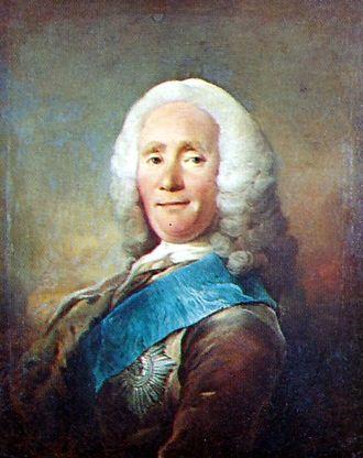 Johan Ludvig Holstein - Image: Johan Ludvig Holstein 1694 1763