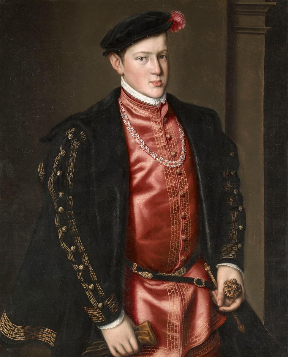 John, Prince of Portugal (c.1552-4) - Anthonis Mor
