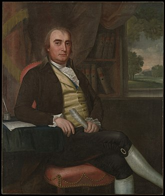 Connecticut's at-large congressional district - Image: John Davenport by Ralph Earl 1794