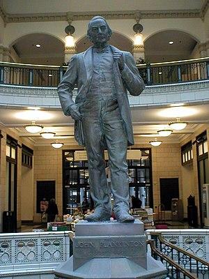 John Plankinton statue - Image: John Plankintona 1a