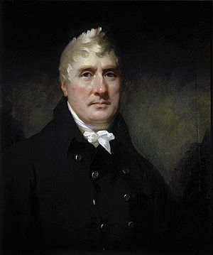 Kennet and Avon Canal - Surveyor John Rennie: portrait by Sir Henry Raeburn, 1810