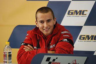 2007 Grand Prix motorcycle racing season - Image: Jorge Lorenzo