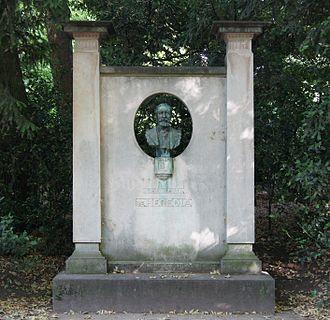 José-Maria de Heredia -  Bust by Victor Segoffin, Jardin du Luxembourg, Paris