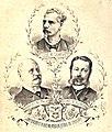 José M. Samper; Manuel del Palacio; Leonel de Alencar ElIndiscreto n17.jpg