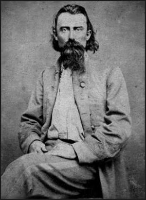 Battle of Carthage (1861) - Joseph O. Shelby, commander of a band of secessionist partisan rangers.