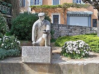 Truffle - Statue of Joseph Talon in Saint-Saturnin-lès-Apt