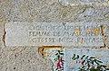 Joussé 86 Pierre tombale sacristie 2013.jpg