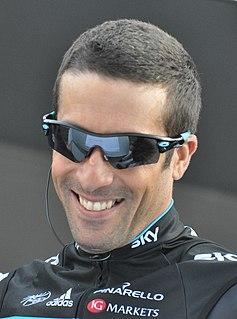 Juan Antonio Flecha Argentine-born Spanish professional road bicycle racer