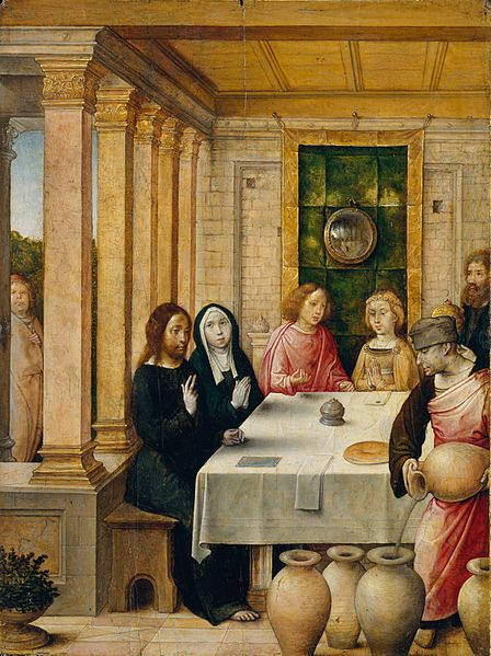 File:Juan de Flandes - The Marriage Feast at Cana - WGA12055.jpg