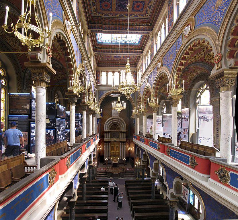Intérieur de la Synagogue de Jérusalem à Prague - Photo de Traveler100