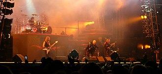 Nostradamus World Tour - Judas Priest performing at the Sweden Rock Festival in Sölvesborg, Sweden on 5 June 2008.