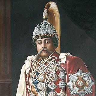 Juddha Shumsher Jang Bahadur Rana Former prime minister of Nepal