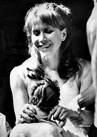 "Primetime Emmy Award for Outstanding Lead Actress in a Limited Series or Movie - Julie Harris won twice for her performances in the Hallmark Hall of Fame episodes ""Little Moon of Alban"" and ""Victoria Regina""."