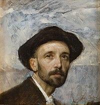 Julius Paulsen - Self-portrait with soft hat, 1900.jpeg
