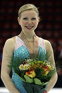 Junior World Championships 2008 Rachael FLATT.jpg