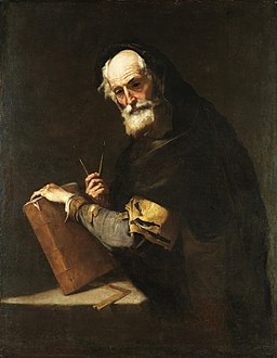 Jusepe de Ribera - A philosopher