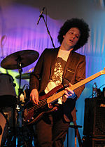 Justin Meldal-Johnson performing