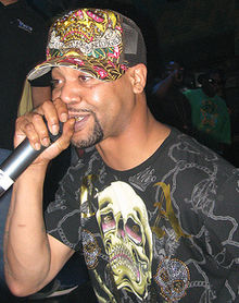 Juvenile in a presentation at House of Blues in New Orleans on March 21, 2008