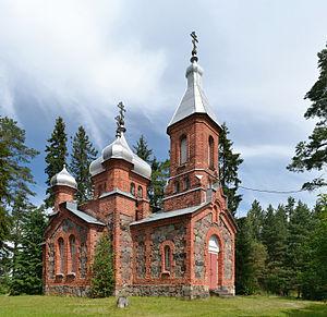 Kärsa, Põlva County - Kärsa orthodox church