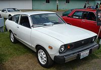 Третье поколение Nissan Sunny, в данном случае - экспортный Datsun Sunny B-210.
