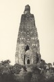KITLV 88082 - Unknown - Mahabodhi stupa in the temple complex at the Buddhagaya Lilajan River in British India - 1897.tif