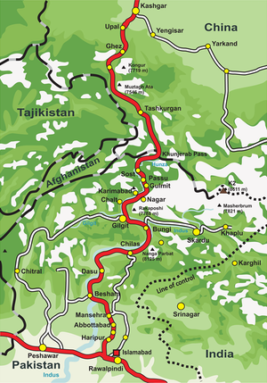Sust - Overview of the Karakoram Highway