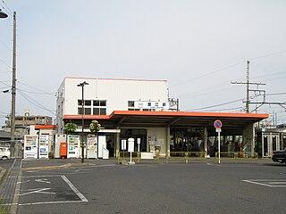 Kintetsu Kanie Station Railway station in Kanie, Aichi Prefecture, Japan
