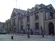 Old main building of the University of Copenhagen, Denmark's oldest and largest university
