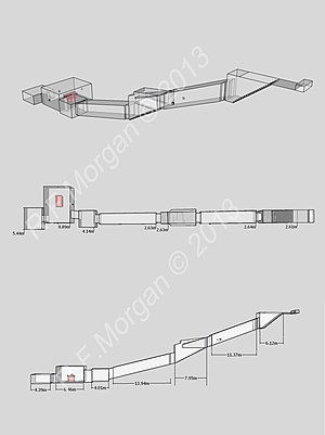 WV23 - Isometric, plan and elevation images of WV23 taken from a 3d model