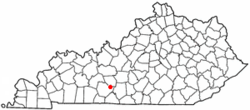 Location of Oakland, Kentucky