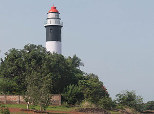 Malabar region - Kadalur Point Lighthouse near Koyilandy