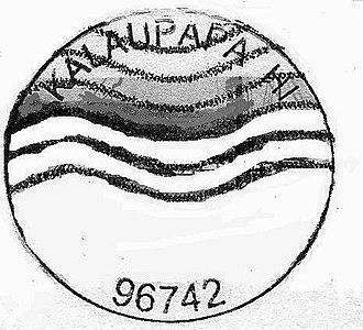 Kalaupapa, Hawaii - Kalaupapa postmark