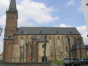 Kalkar - St. Nicolai church.