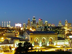 Kansas City Skyline from the north.