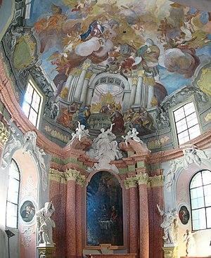 Johann Christoph Handke - Image: Kaple Boziho tela in Olomouc