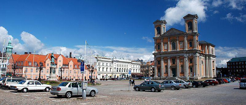 Stortorget i Karlskrona